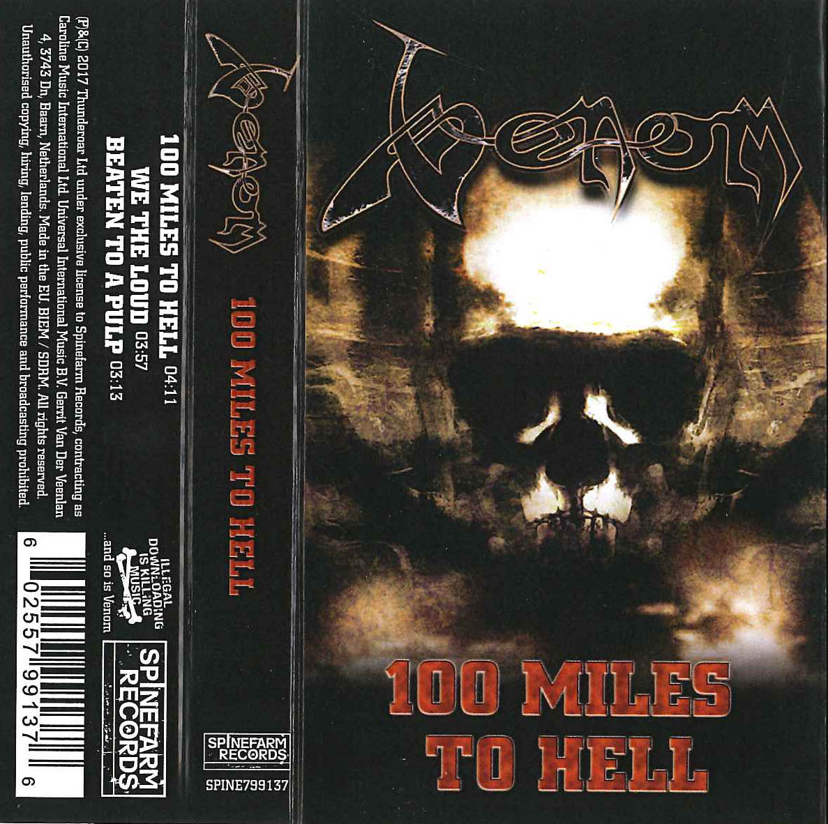 Venom Tapes Collection 100 miles to hell