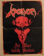 venom black metal Posters