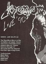 venom black metal 1990 live