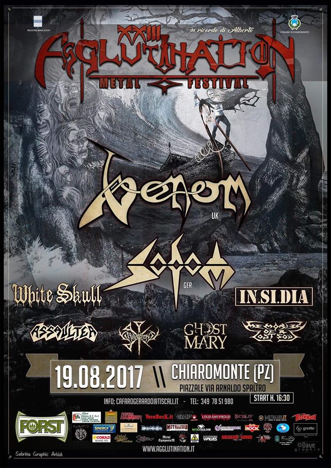 venom black metal summer festival 2017