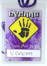venom black metaldynamo tour pass