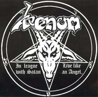 venom black metal in leauge with satan single 1981