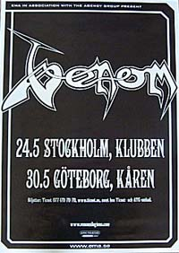 venom gothenburg 2007 review