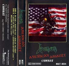 venom black metal collection homepage american assault tape