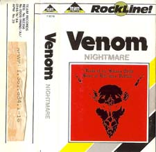 venom black metal collection homepage rare tape