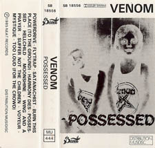 venom black metal collection homepage possessed tape