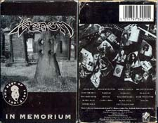 venom black metal collection homepage in memorium tape