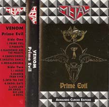 venom black metal collection homepage prime evil rare tape