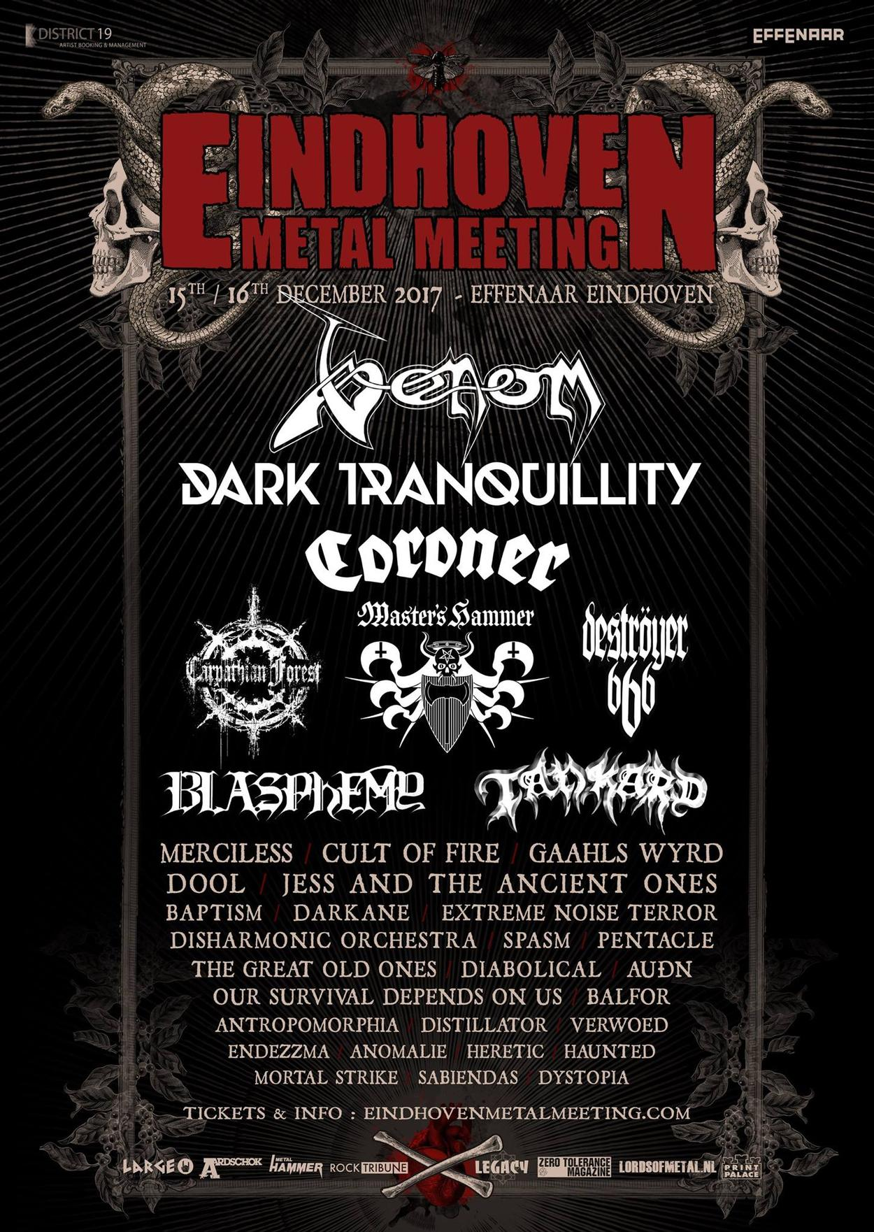 venom black metal eindhoven metal meeting 2017