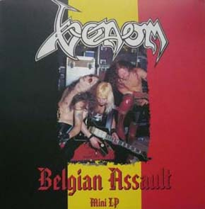 venom Belgian Assault bootleg album
