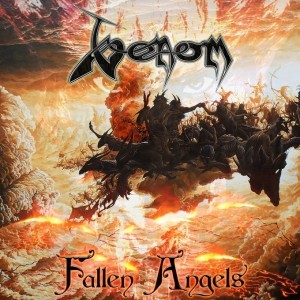 venom black metal Fallen Angels Cover Artwork