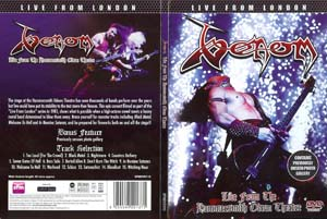 venom live from london dvd
