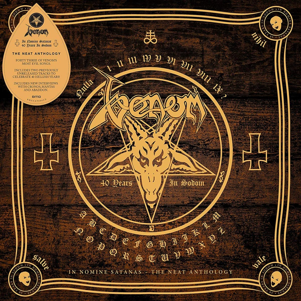 venom black metal in nomine satanas vinyl cd collection