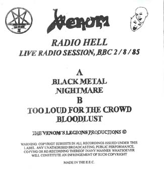 venom black metal bootleg
