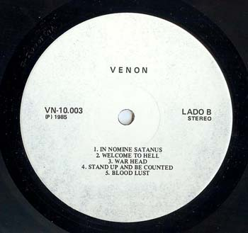 venom black metal 7 date of hell vinyl bootleg