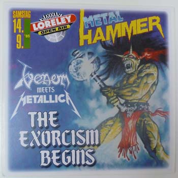 ExorcismBegins85 | Venom meets Metallica Loreley festival