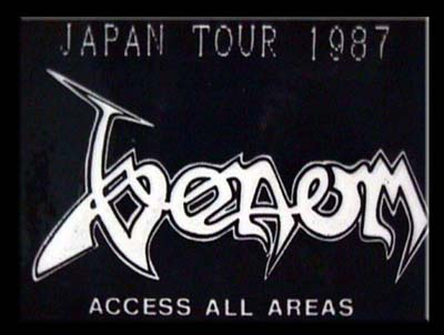 venom black metal japan tour pass
