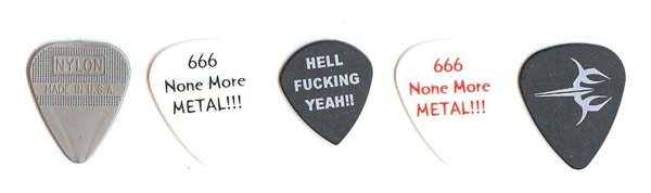 venom black metal guitarpicks