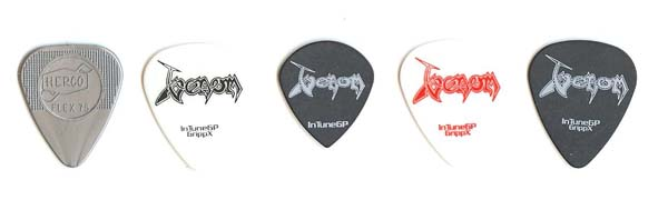 venom black metal guitar picks