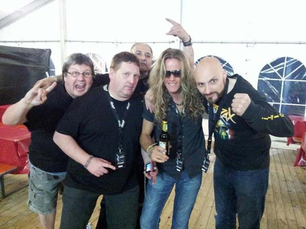 Bang Your Head Venom 2012 Backstage
