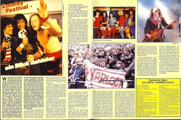ExorcismBegins85 | Venom meets Metallica Loreley festival 1985