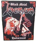 venom black metal backpatch rare