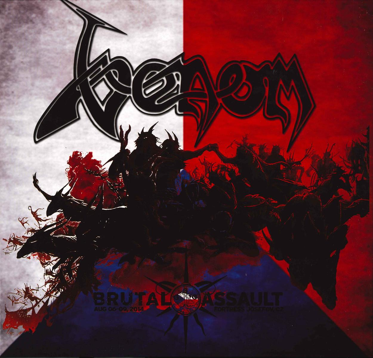 venom black metal  brutal assault