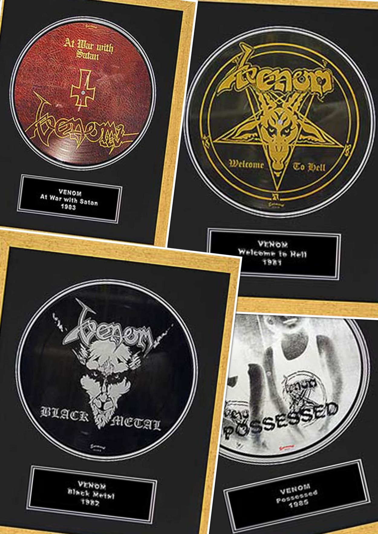 venom black metal collection homepage framed records