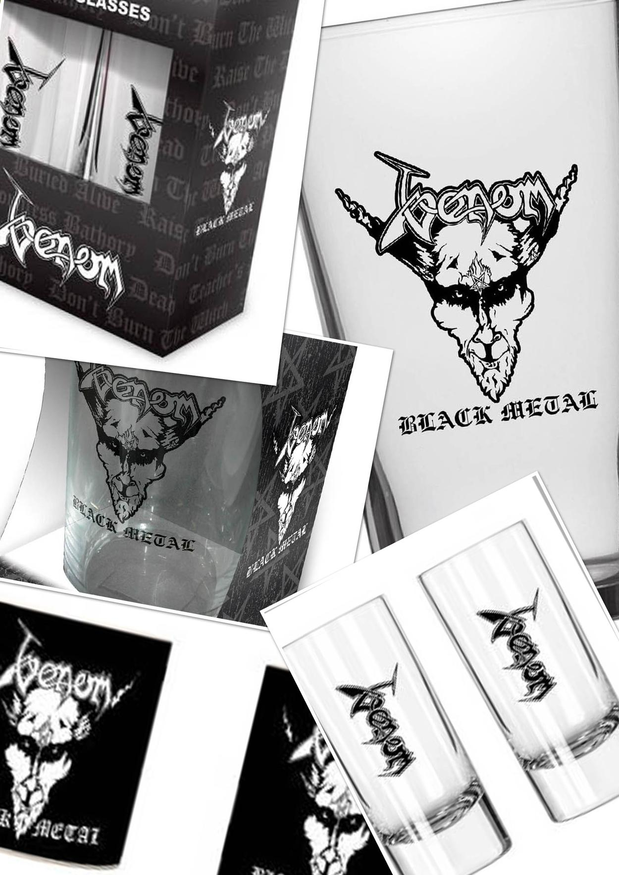venom black metal collection homepage glasses mugs