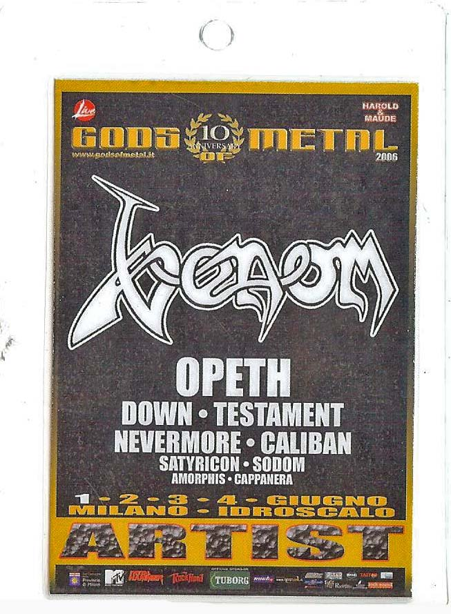 venom rare tour pass