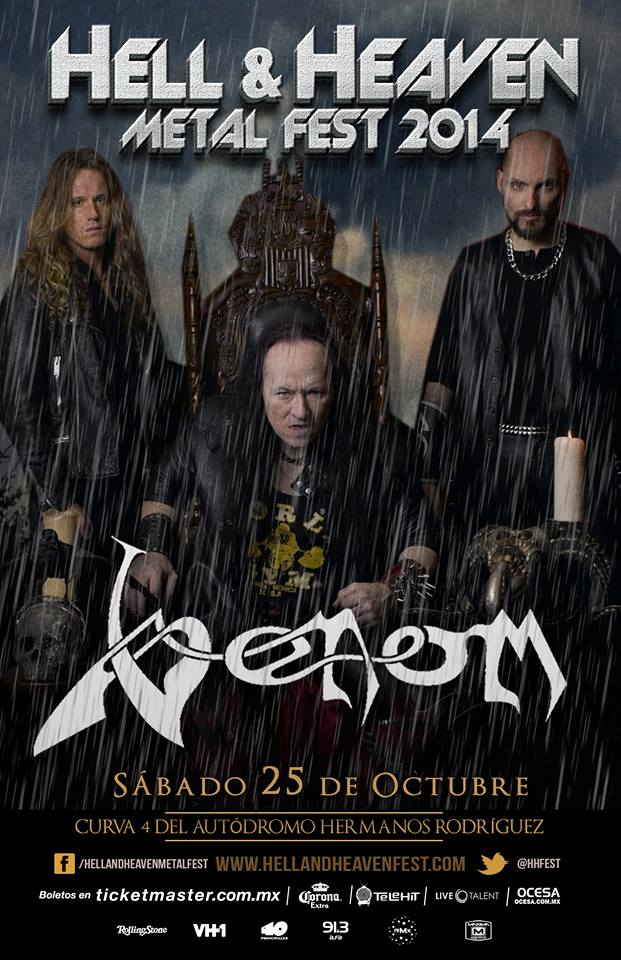 venom black metal south america 2014