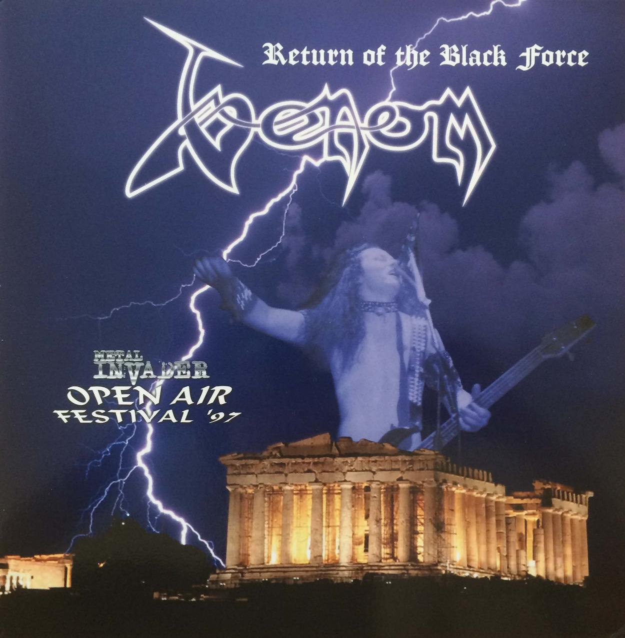Venom return of the black force athen 1997 bootleg live