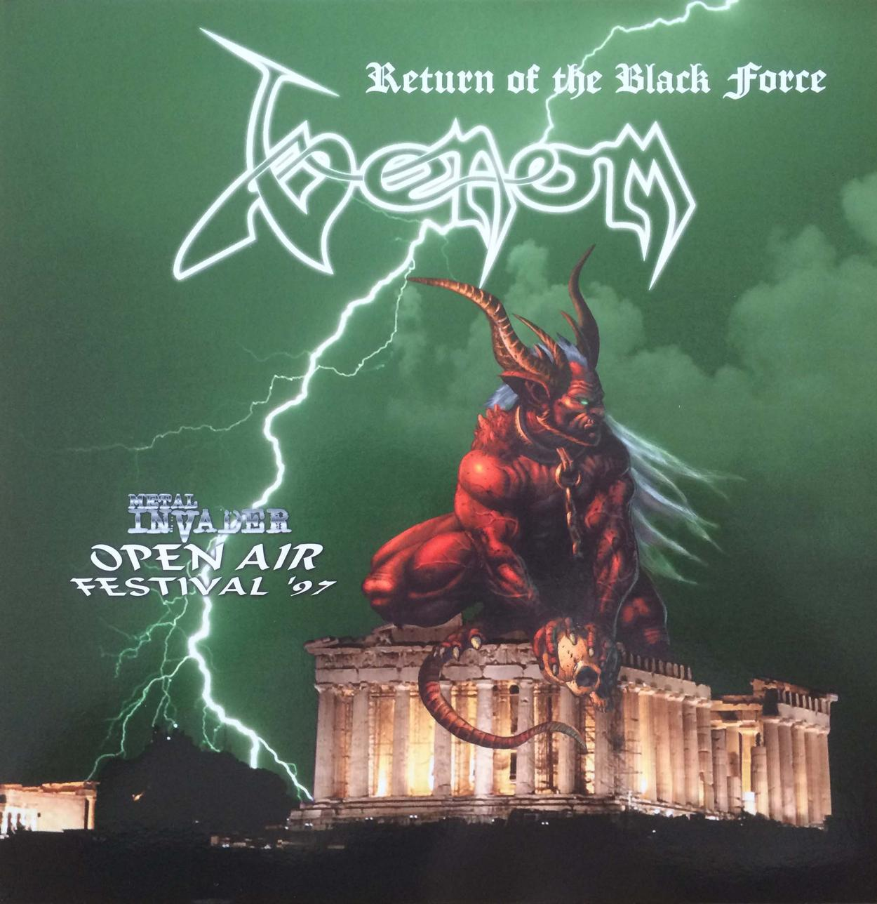 Venom return of the black force athen 1997 live