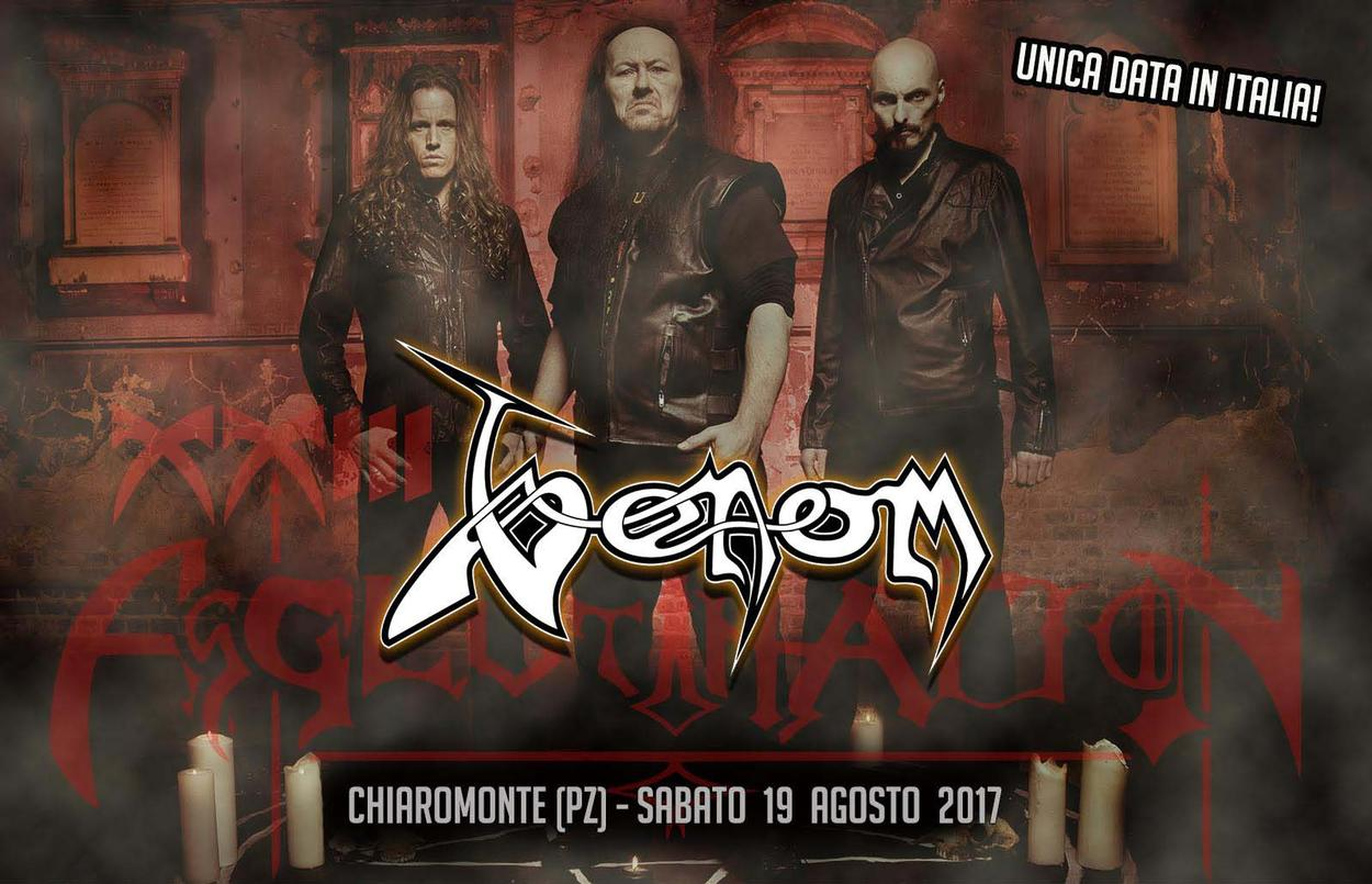 Venom black metal news venomcollector page