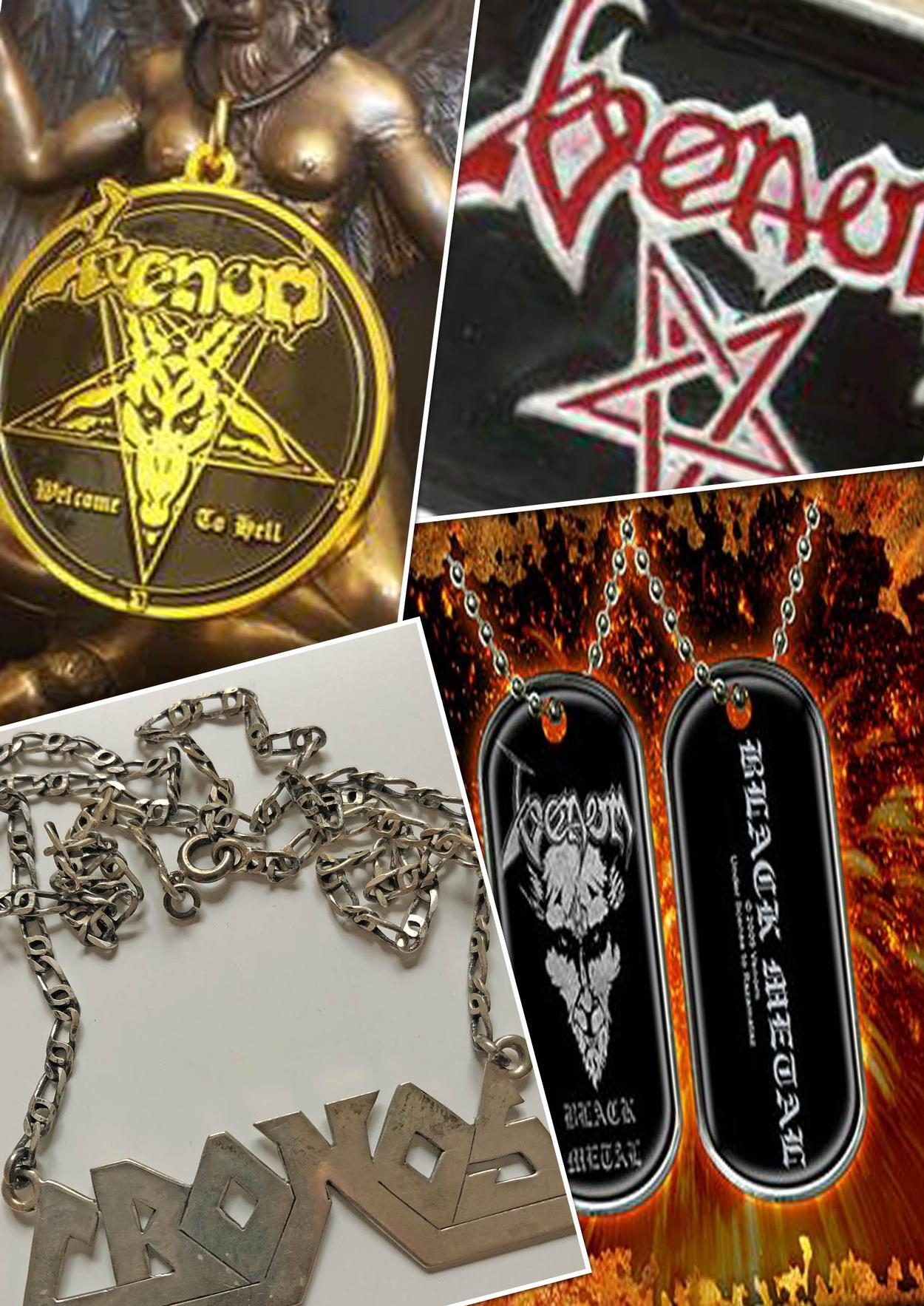 venom black metal collection homepage jewelry