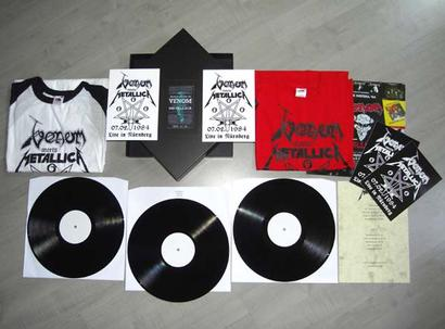 venom black metal metallica box set nurnberg 1984