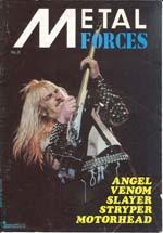 venom metal forces magazine