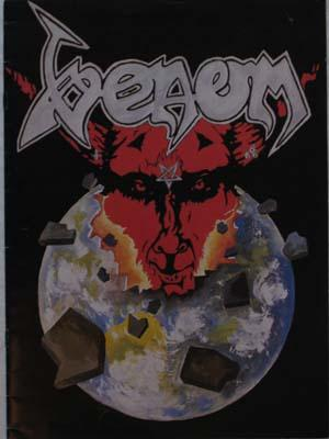 venom possessed tour book 1985