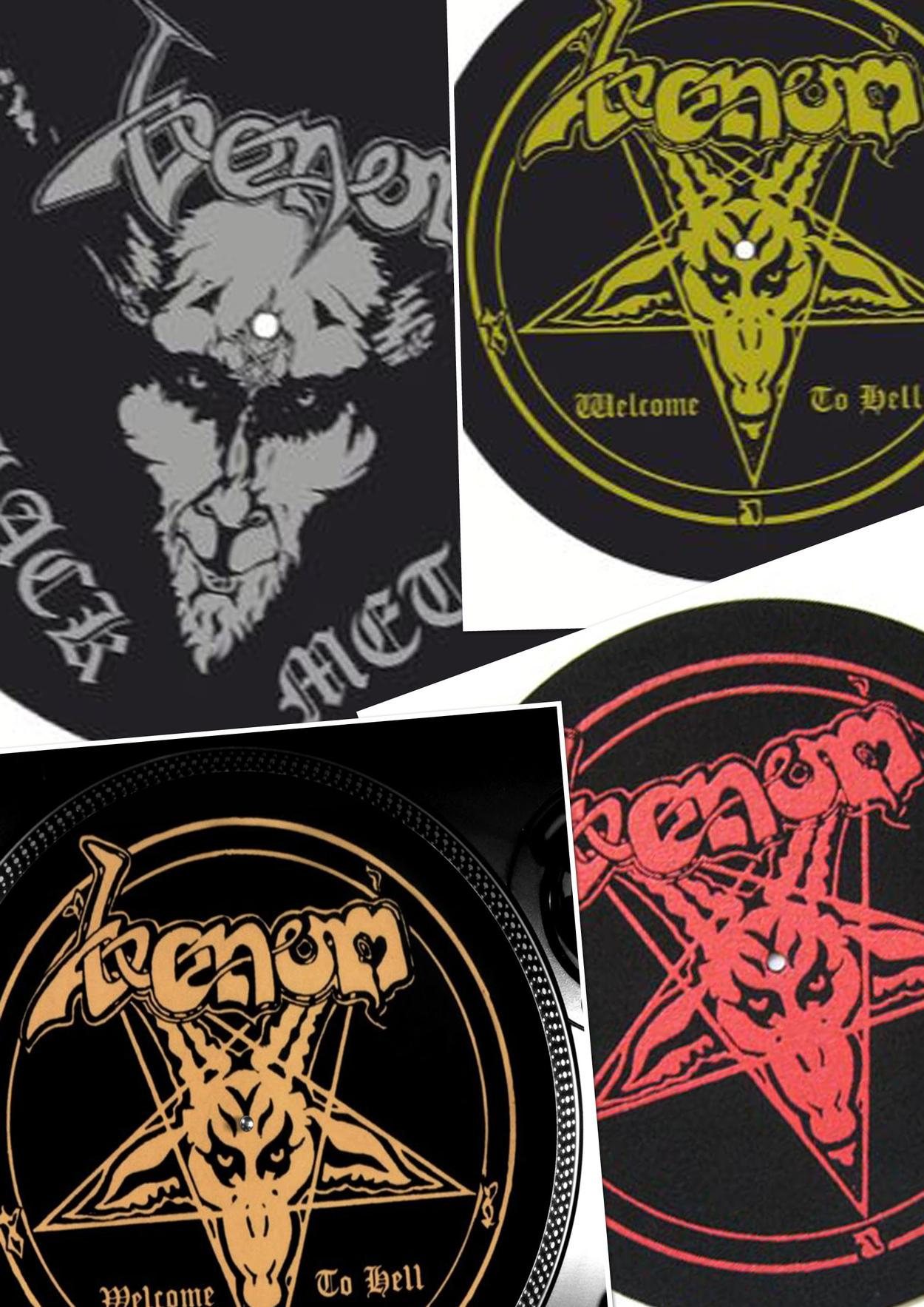 venom black metal collection homepage slipmats