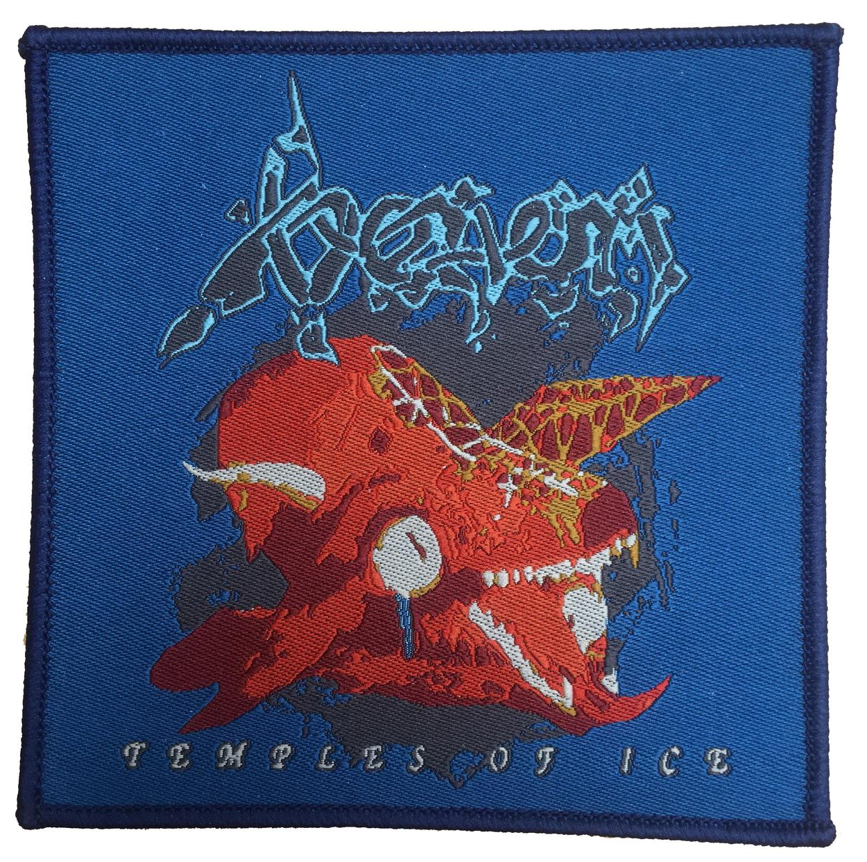 venom black metal temples of ice patch