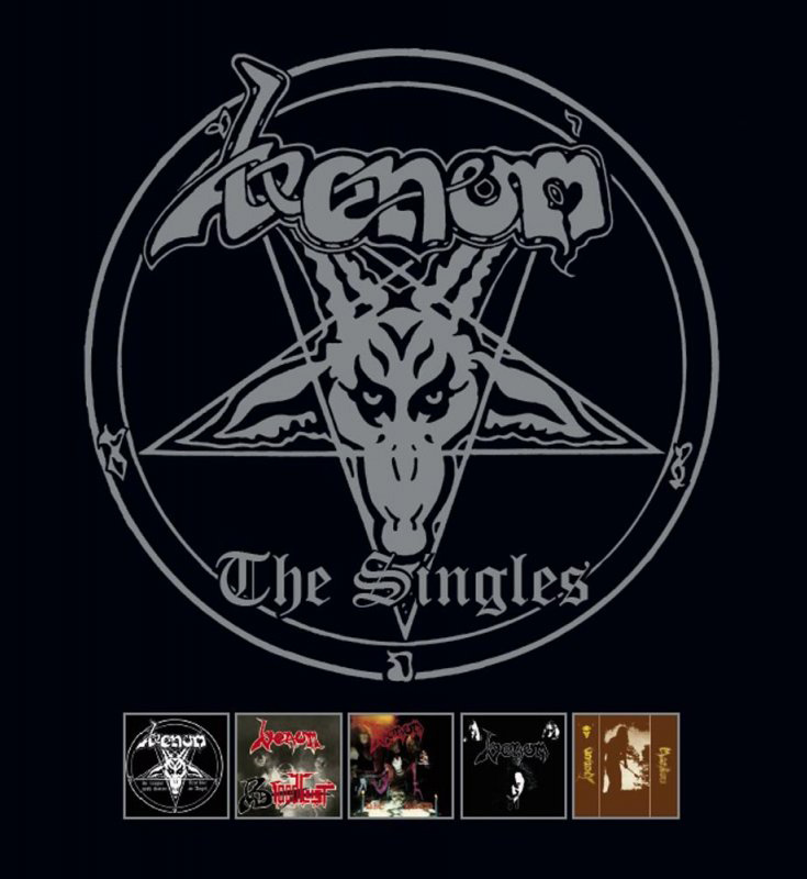 venom black metal the singles vinyl box