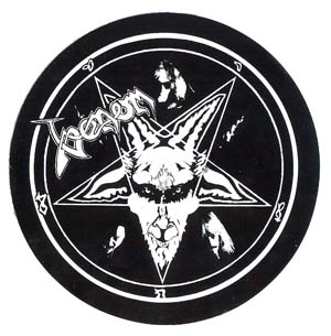 venom black metal reunion 1996 sticker
