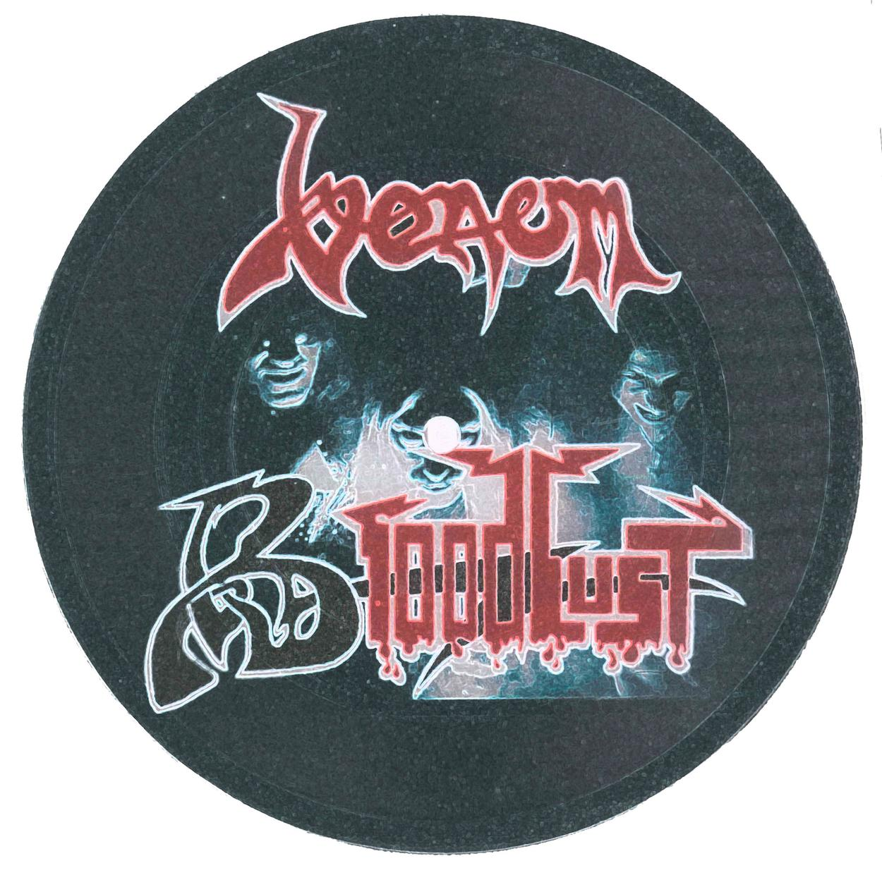 venom black metal bloodlust bootleg picture disc