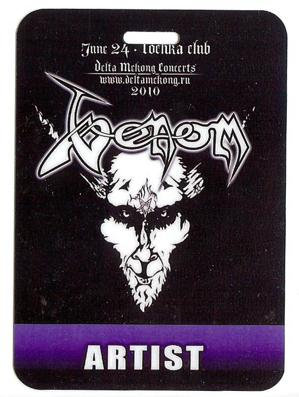 venom cronos backstage pass