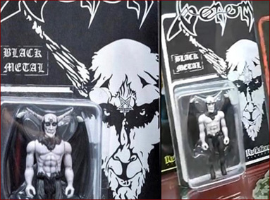 Venom Band Official news black metal cronos rage dante action figure