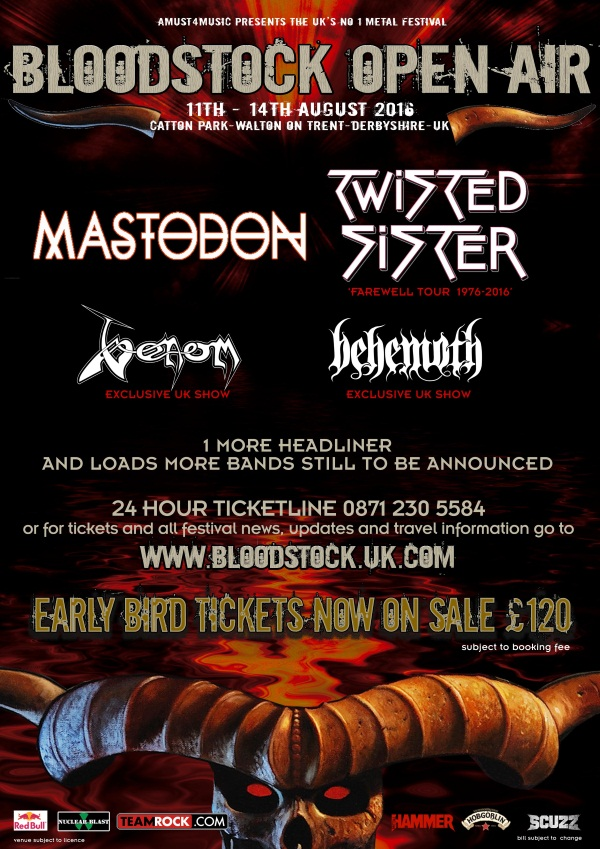 venom black metal bloodstock review 2016