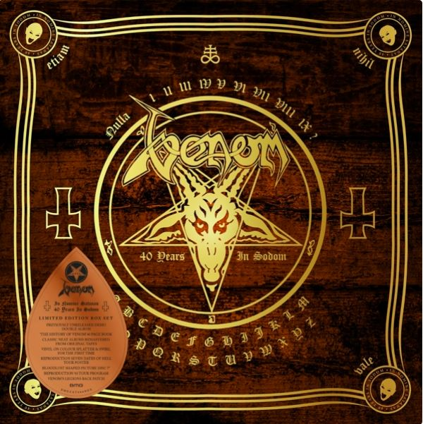 venom black metal collection in nomine satanas box set