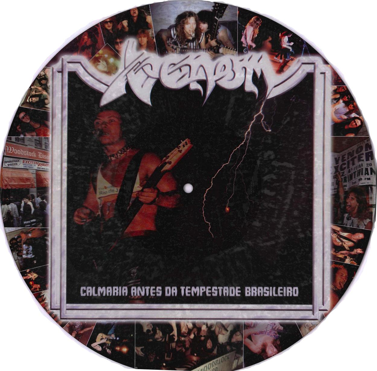 venom brazil assault picture disc bootleg