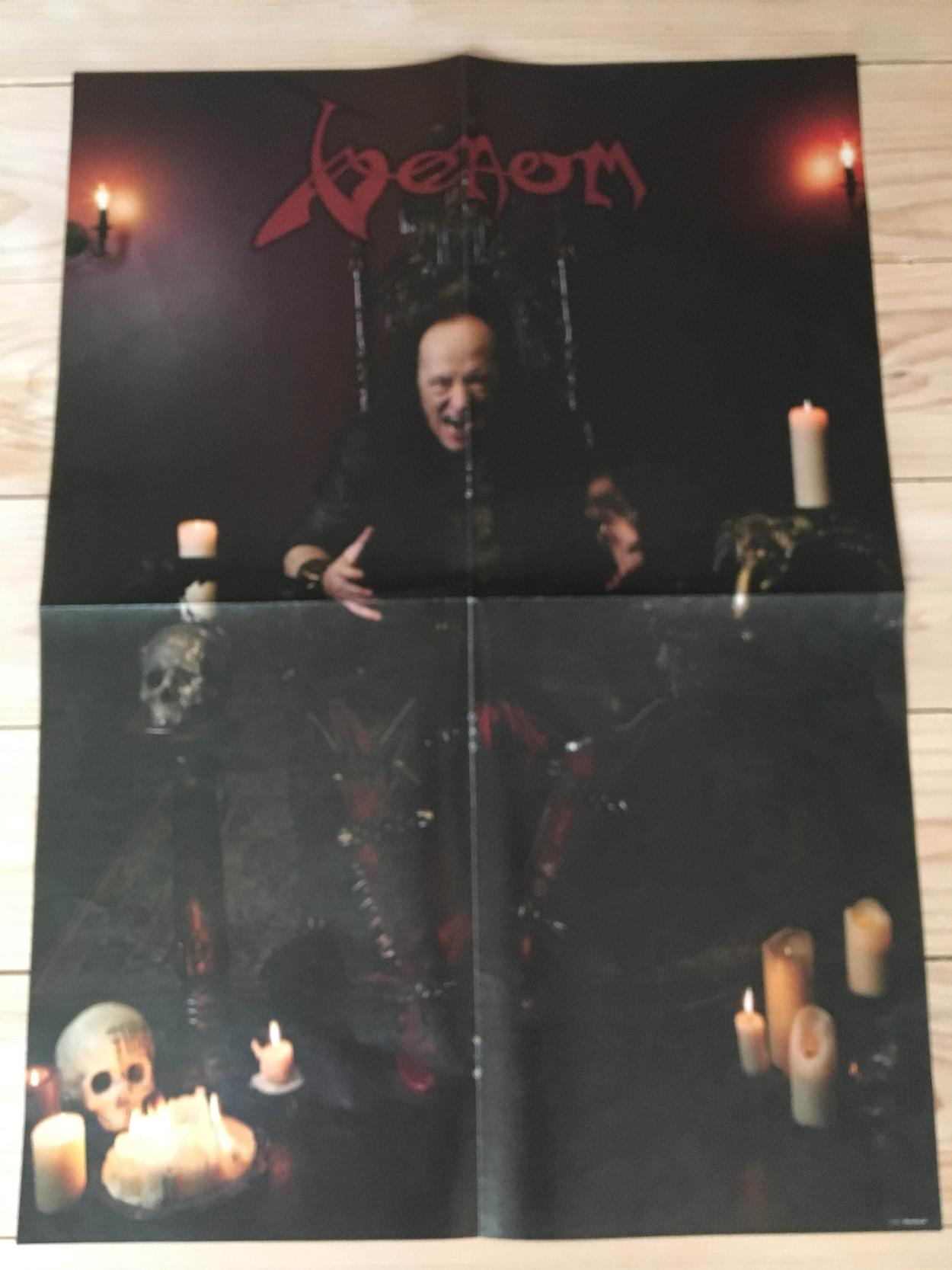 venom black metal collection homepage poster