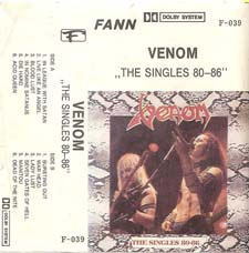Venom Tapes Collection the singles rare tape
